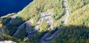 Trasporto del parco eolico con il Blade Lifter in Novergia